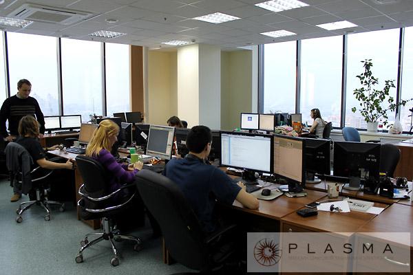 Офис компании «Плазма Диджитал»